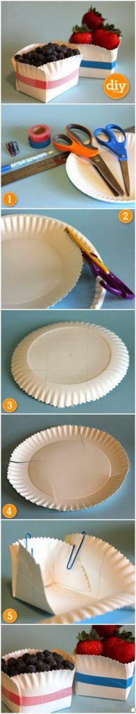 χάρτινα πιάτα