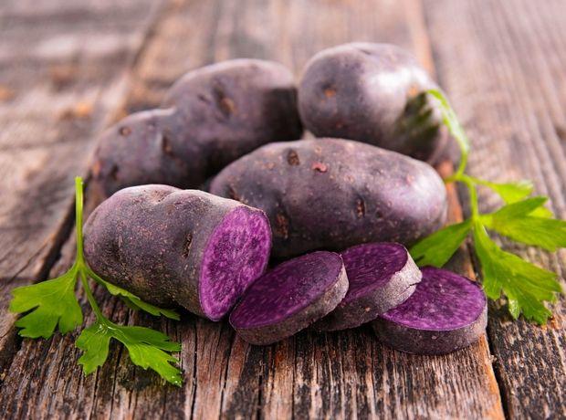μοβ γλυκοπατάτα