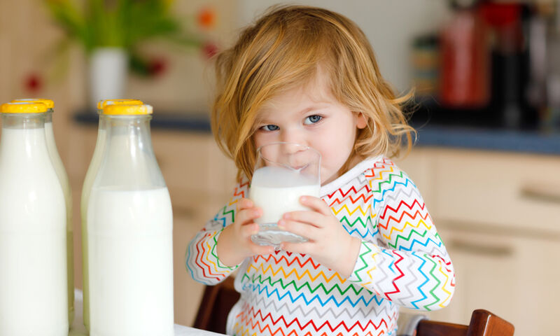 παιδί γάλα