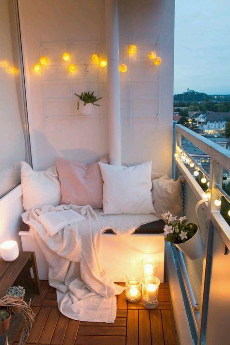 Ιδέες διακόσμησης για μικρο μπαλκόνι!