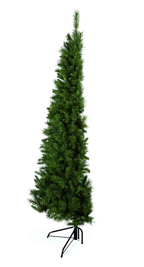 μισό χριστουγεννιάτικο δέντρο